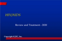 HIV/AIDS - Review and Treatment 2020