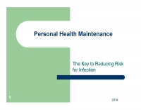 Personal Health Maintenance