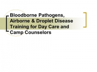 Disease Review & Vaccine Requirements for Day Care Centers and Camps